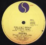 Madonna - Papa Don't Preach (Extended Version) - (VGC) 12""