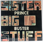 Prince Buster - Sister Big Stuff - First Release 1976 VGC LP