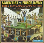 Scientist v. Prince Jammy - Big Showdown (1980) At King Tubby's - VGC++ RARE Greensleeves GREL10