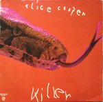Alice Cooper - Killer - (poster missing, disc VGC+)